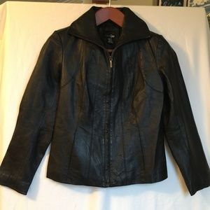 East Fifth Genuine Leather Coat,  Petite/Small